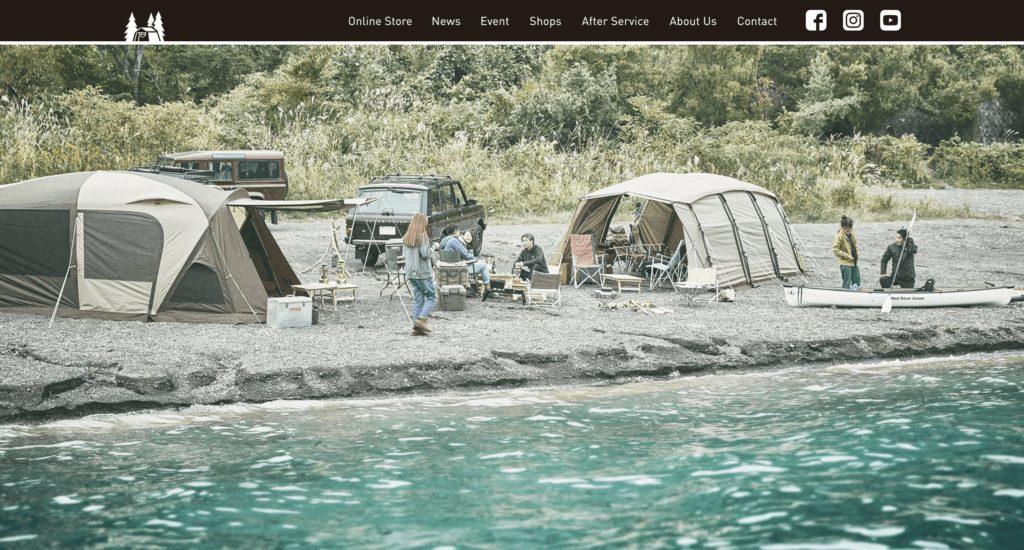 小川テント公式サイト