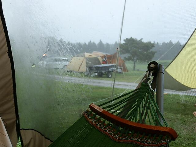 加水分解よるテントの劣化