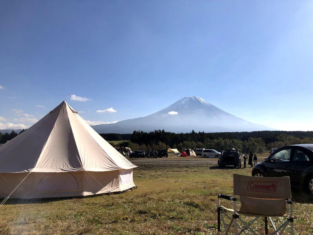 圧巻の富士山