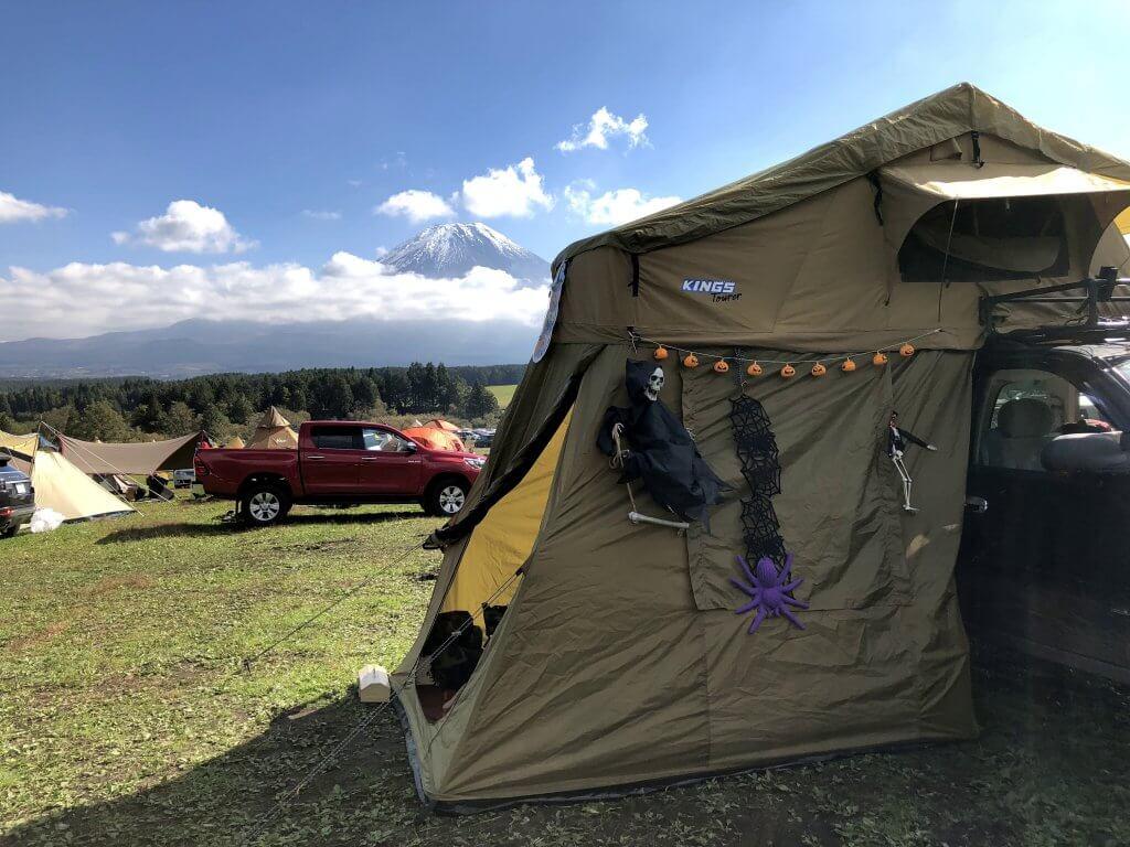 ソロキャンプは自由自在