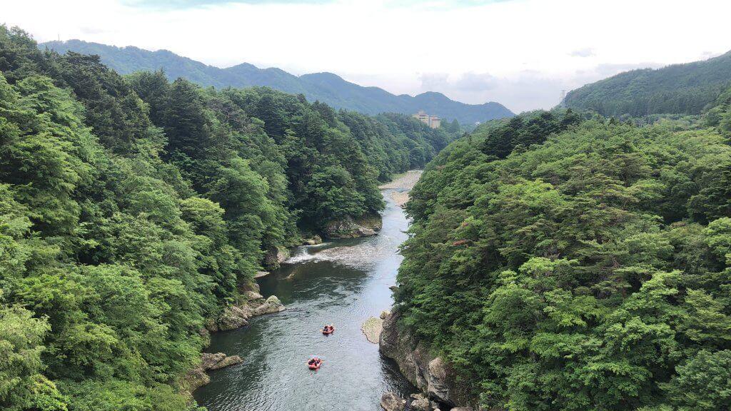 鬼怒川温泉でラフティングを楽しもう♪