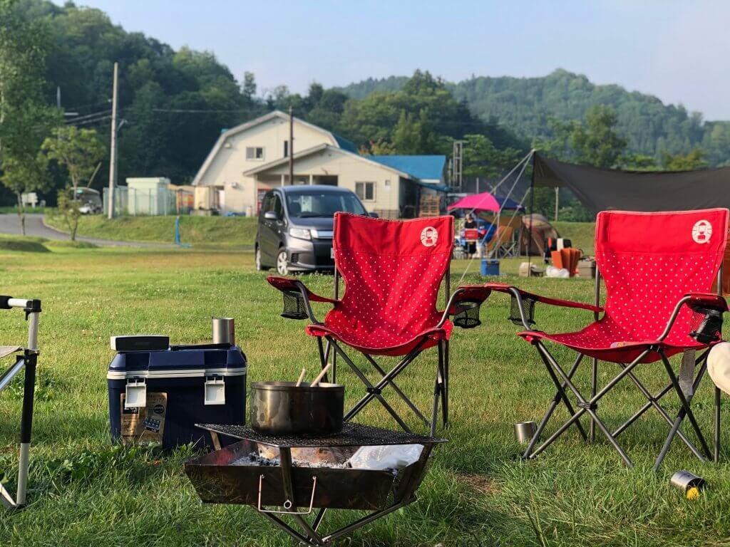 キャンプに必要な椅子