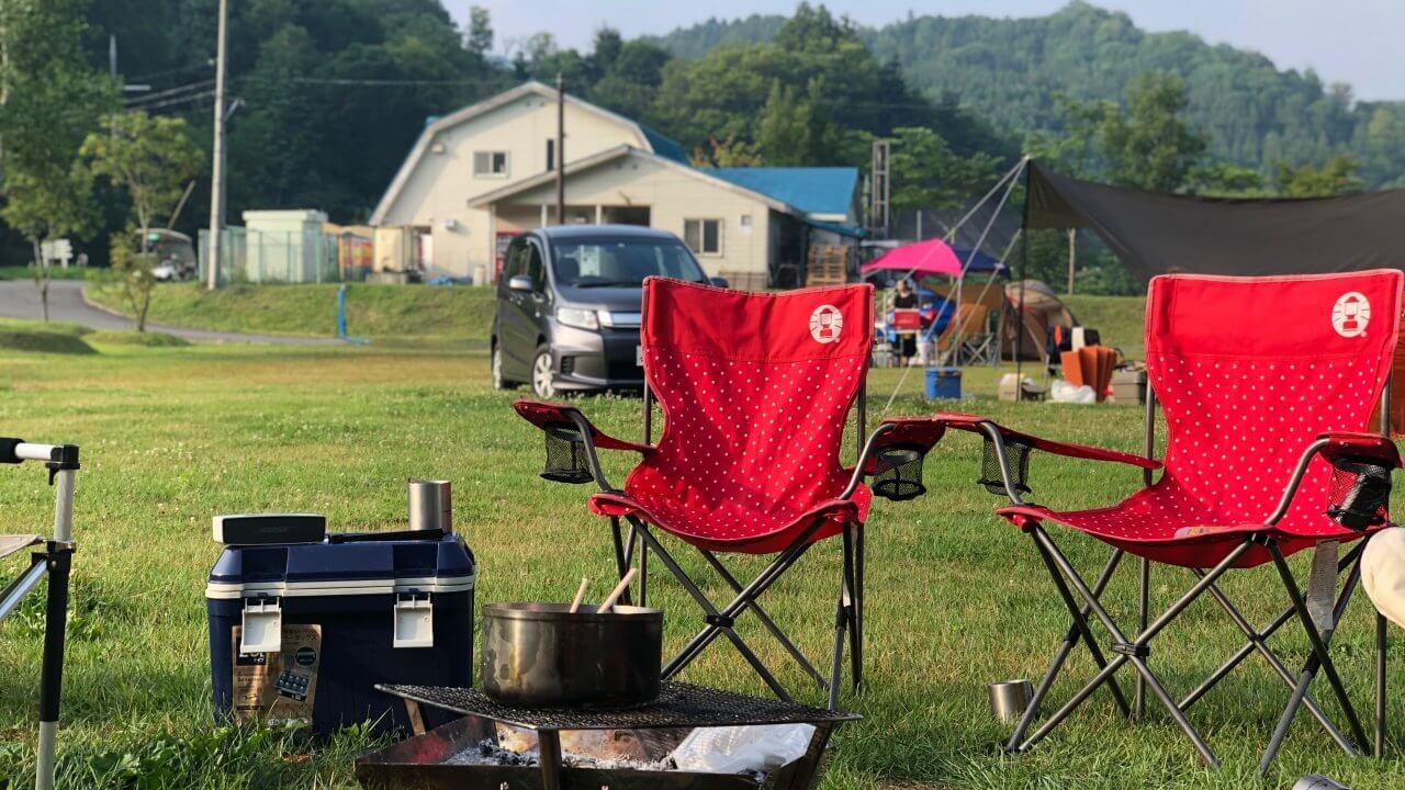 キャンプの椅子