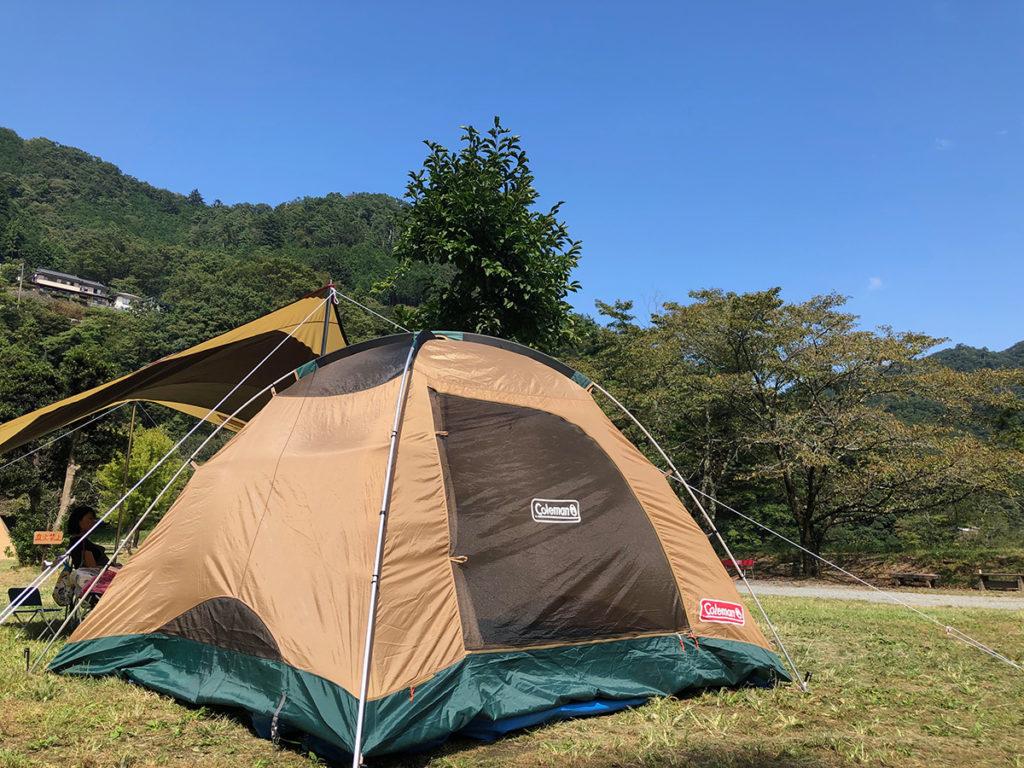 キャンプに絶対必要なテント
