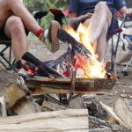 キャンプの持ち物:焚き火台