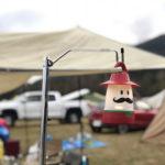 キャンプの持ち物:ランタンスタンド