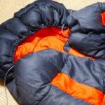 キャンプの持ち物:寝袋