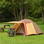 キャンプの持ち物:テント