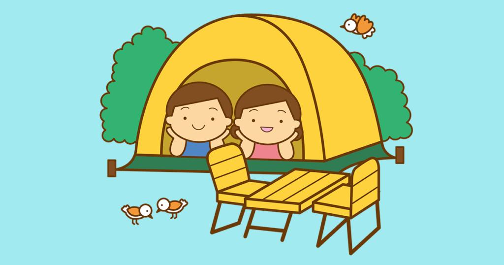 何人でテントを使用する?