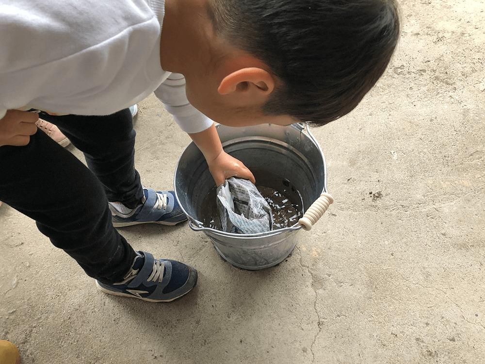 焼き芋体験