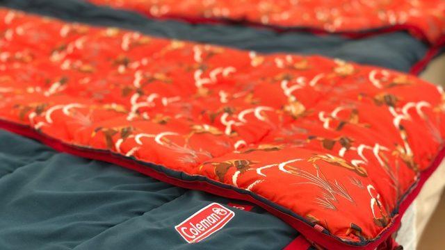 バブリゾートでは寝袋もバッチリ♪
