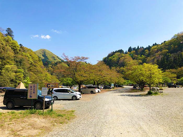 青野原オートキャンプ場Cサイト