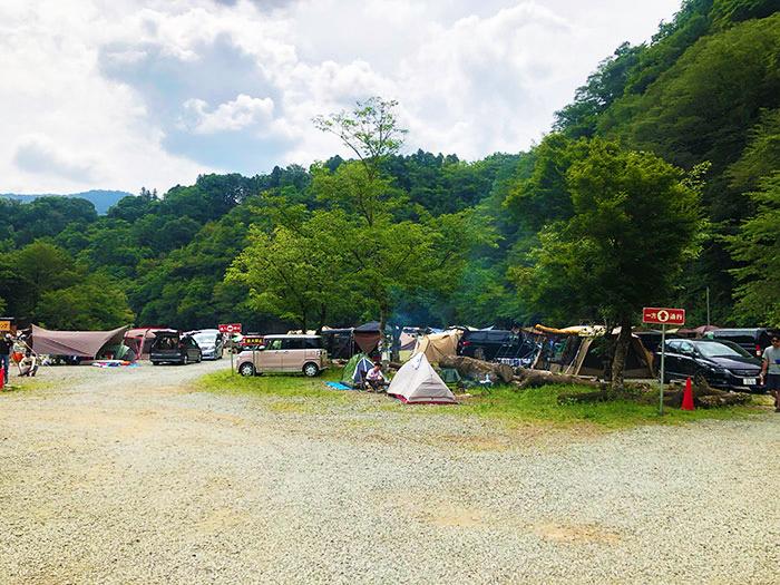 青野原オートキャンプ場Fサイト