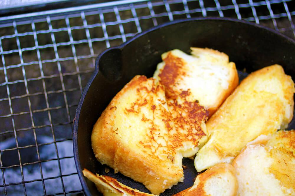 朝食:フレンチトースト