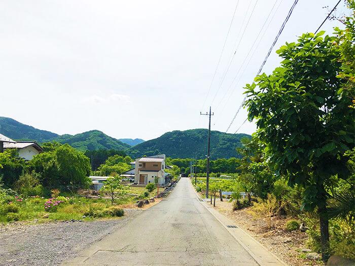 長瀞オートキャンプ場の入り口