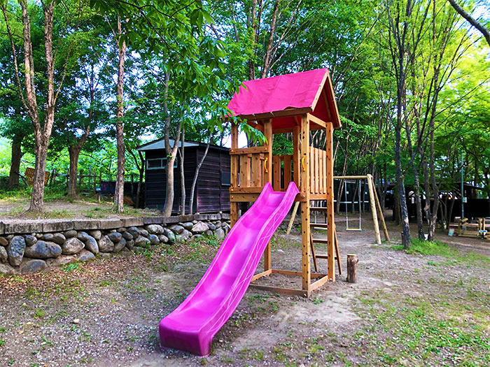 【長瀞オートキャンプ場】子ども向けのわくわく広場