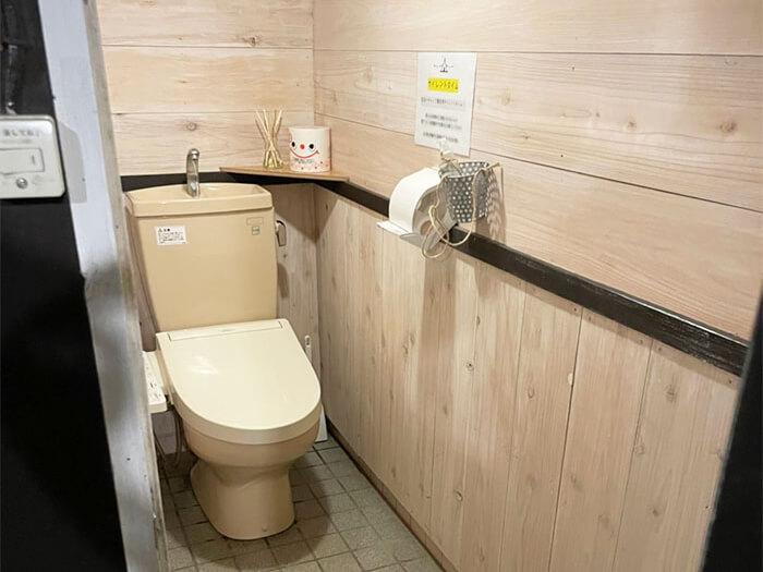 女性トイレの一部