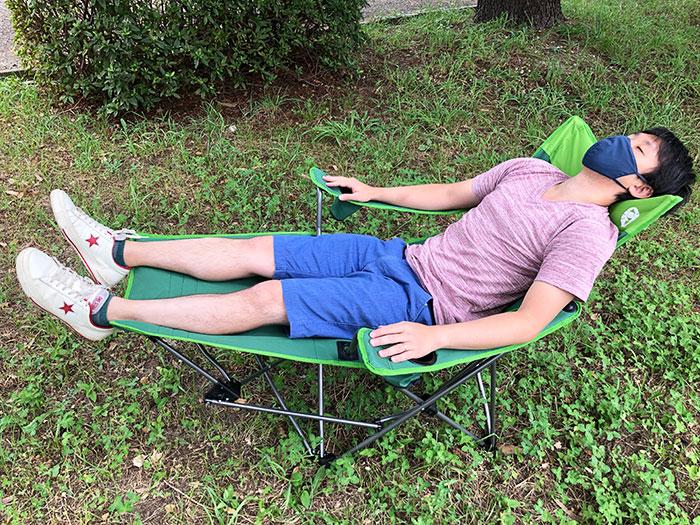 コスパ最高のキャンプ椅子:イージーリフトチェアST